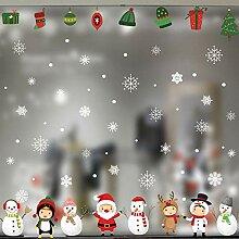 Sticker Wandschneeflockendekor Weihnachten