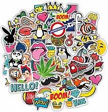 Stickerbombe aufkleber 100 sticker graffiti
