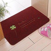 Stickerei Haus Tür Matratze TPR Material wasserabsorbierende Anti-Rutsch-Matte Rub Staub aufgefüllt Pad Pad Schlafzimmer Teppich Tür Tür-Pad 80 * 120cm ( farbe : A2 , größe : 40*60cm )