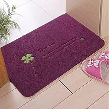 Stickerei Haus Tür Matratze TPR Material wasserabsorbierende Anti-Rutsch-Matte Rub Staub aufgefüllt Pad Pad Schlafzimmer Teppich Tür Tür-Pad 80 * 120cm ( farbe : A4 , größe : 40*60cm )