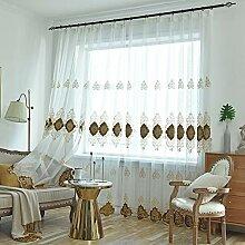 Stickerei-Vorhang,europäischer