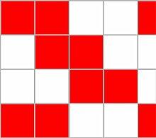 Stickerkoenig Fliesenaufkleber Kacheldekor 20x10cm Badezimmer Küche 80 Stück in glanz Farbe Ro