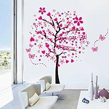 Stickerkoenig Wandtattoo Liebesbaum Liebe Baum