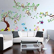 Wandtattoo baum gro g nstig online kaufen lionshome - Wandgestaltung afrika style ...