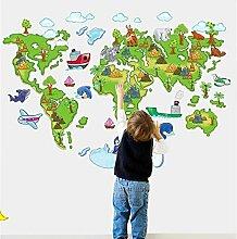 Wandtattoo Weltkarte: Riesenauswahl zu TOP Preisen | LionsHome