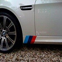 TAYDMEO 2PCS 14CM Auto R/ückspiegel Aufkleber Auto Styling Sport Aufkleber Auto Spiegel Dekoration F/ür BMW E46 3er