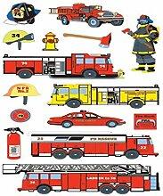 Sticko Aufkleber Feuerwehr