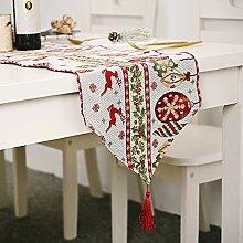 Stickpackung Tischläufer Weihnachten Vintage