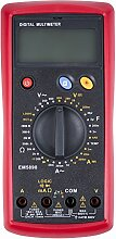 STIER Digital Multimeter, 2-600V AC / 0,2-600V DC