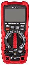 STIER Profi Digital Multimeter, 0,01mV - 1000V,