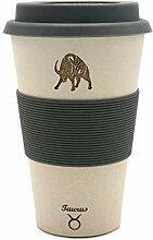 Stier (Taurus) - Sternzeichen Coffee2go Becher aus