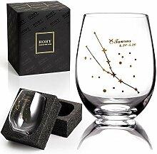 Stier Weinglas ohne Stiel, Sternbild Glas