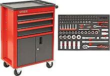 STIER Werkstatt- und Schrankwagen mit 3
