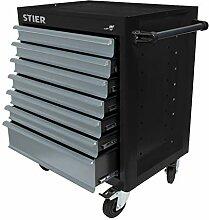 STIER Werkstattwagen BLACK-Edition, unbestückt -