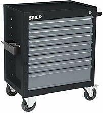 STIER Werkstattwagen BLACK-Edition, unbestückt,