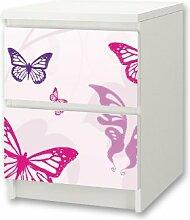 Stikkipix Butterfly Möbelsticker/Aufkleber für