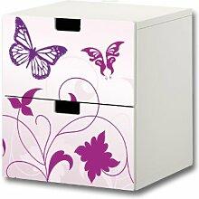 Stikkipix Butterfly Möbelsticker/Aufkleber -