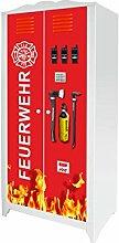 Stikkipix Feuerwehr Möbelsticker/Aufkleber für