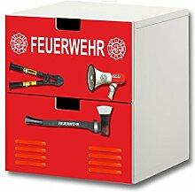 Stikkipix Feuerwehr Möbelsticker/Aufkleber -