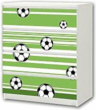 STIKKIPIX Fußball Möbelsticker/Aufkleber - M4K10
