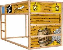Stikkipix Piraten Möbelsticker/Aufkleber für das