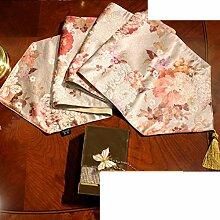 Stil esszimmer tisch tischläufer,american country tv cabinet tea tisch flagge tuch,tischdecke-F 30x210cm(12x83inch)
