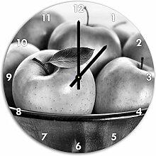 Stil.Zeit Monocrome, Apple Apfel Korb mit grünen