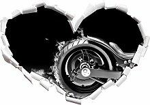 Stil.Zeit Monocrome, Dark Brennender Harley Reifen