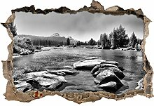 Stil.Zeit Monocrome, Tuolumne River, Yosemite