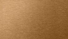 Stilest Peel-n-stick Wandfliese aus Metall kupfer