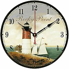 Stille Wanduhr/Vintage Wanduhr, dekorative Uhr mit