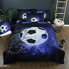 Stillshine Bettwäsche Bettbezug 3D Fußball