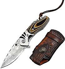 Stilvoll Outdoor Klappmesser Scharf Stahl Messer