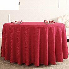 Stilvolle Baumwolle Tischdecke rot Hochzeit/ längliche Tischdecke/West im europäischen Stil Garten Tapeten/Tischdecken-A 120x160cm(47x63inch)