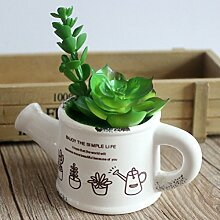 Stilvolle Blume Künstliche Pflanzen & Keramik