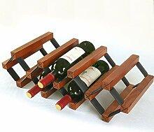 Stilvolle Einfachheit Eiche Weinregal Weinregal