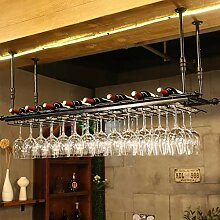 Stilvolle Einfachheit Weinglas Rack, Regal