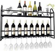 Stilvolle Einfachheit Weinregal Kelchhalter