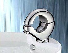 Stilvolle Elegante Bad Armatur | Deluxe Einhandmischer | Verchromtes Messing Neu | Atemberaubendes Design in Hochglanzausführung