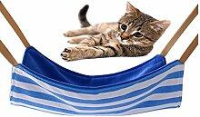 Stilvolle Pet Cat Aufhängen Bett Hängematte bequem Swing–Kleintier Sleep Aufhängen Bett Weiche Bequeme Käfig Bett für Frettchen Kitty Puppy Bunny