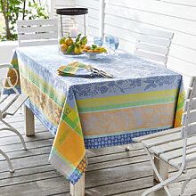 Stilvolle Tischdecke wie in der Provence mit