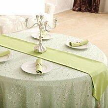 Stilvolle Tischläufer,Klassische Tuch Tischläufer,Wohnzimmer Tv-schrank Tisch Tuch Tischfahne-B 33x240cm(13x94inch)