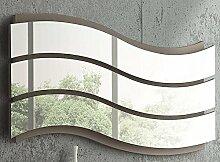 Stilvolle Zeitgenössisch Wellig Spiegels - PAAR 80x 30cm Acryl SPLITTERFREI Spiegels * Sommerschlussverkauf *