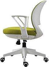 Stilvoller Bürostuhl, Netzstoff, Drehstuhl,