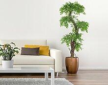 Stilvoller künstlicher Baum & Pflanze. Eine wunderschöne künstliche Innenraumpflanze der japanische Fruticosa Baum ist ideal für Büros und Innendekoration Höhe 168 cm