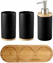Stilvolles Keramik-Badezimmer &