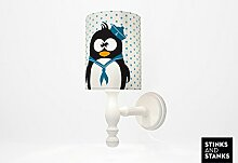 STINKSANDSTANKS Lampe Pinguin (Wandlampe)