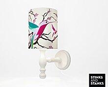 STINKSANDSTANKS Lampe Vogel Kolibri (Wandlampe)