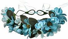 Stirnbänder Brautkranz Hochzeit Blumen Mädchen