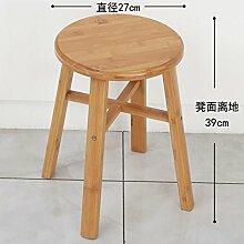STJK$BMJW Nan Bamboo Hocker Auf Einem Niedrigen Hocker Kleine Bänke Klappstühle Für Kinder Stühle Angeln Stuhl Wäscheservice Sicherheit Hocker Hocker 13.